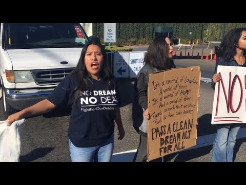 Dreamers uncertain about future as immigration fight looms