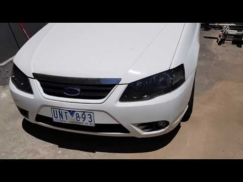 Ford Falcon BA Ute 2006 - How To Swapover The Seats