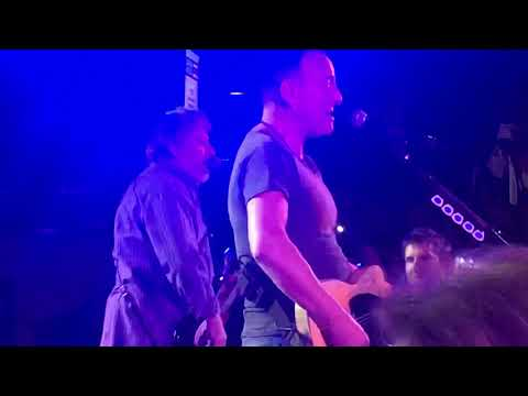 Bo and Jim - Bruce Springsteen Takes over Boston College like a Boss!