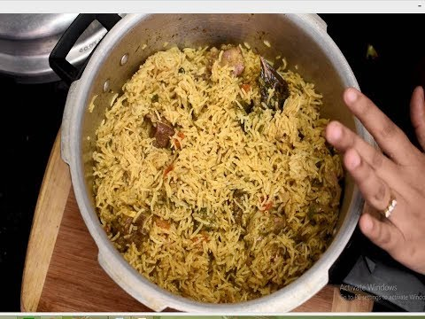 Mutton Biryani/ Hotel style Biryani using pressure cooker/ Quick, easy and tasty Biryani recipe