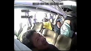Shocking footage: Deadly Chinese bus crash caught on camera