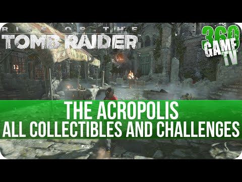 Rise of the Tomb Raider - The Acropolis - All Collectibles and Cut Short Challenge Locations