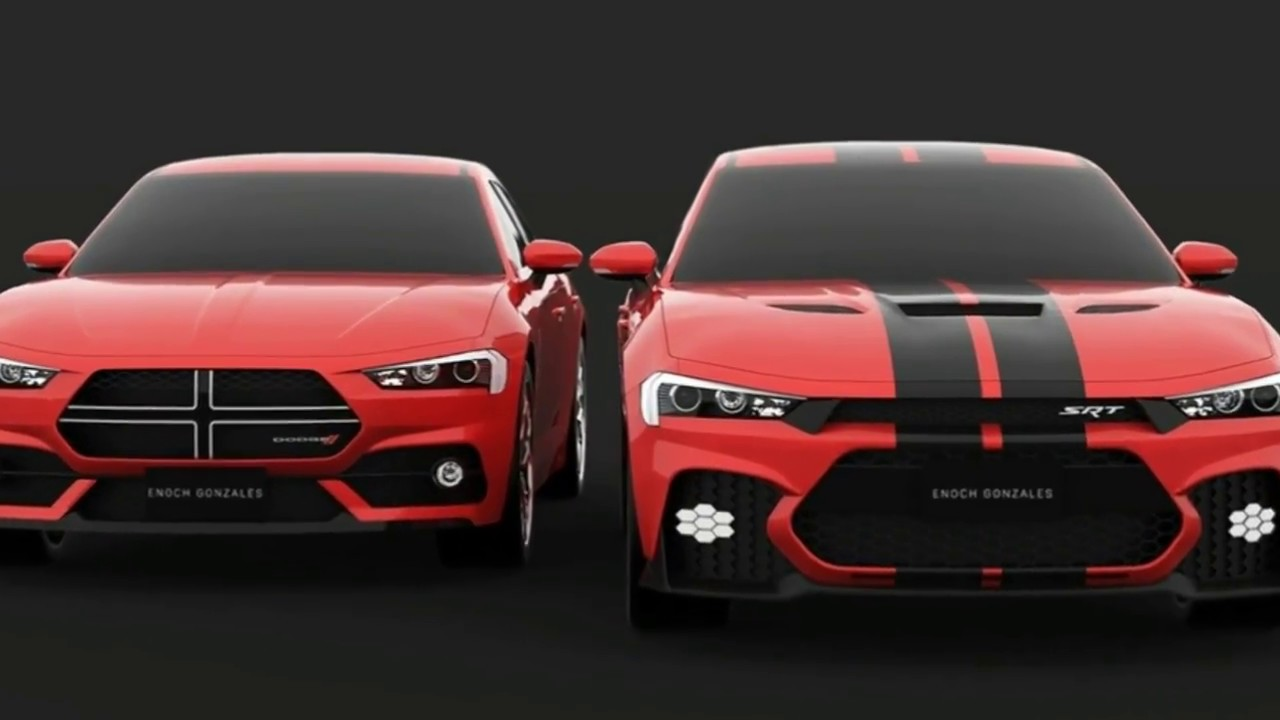 Charger Vs Challenger >> 2019 Dodge: Here's A Take On The Facelifted - Dodge Charger SRT Hellcat - YouTube