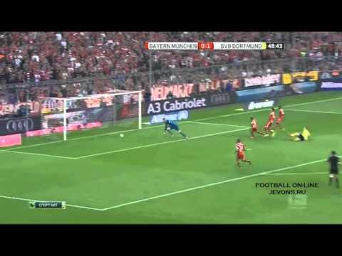 Бавария 0- 3 боруссия
