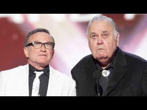 Robin Williams at The TV Land Awards with Jonathan Winters