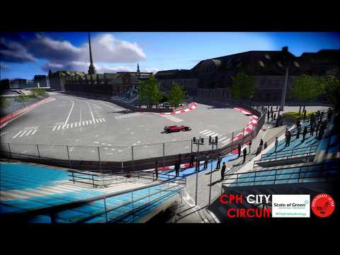 DANISH FORMULA 1 GRAND PRIX 2020 - COPENHAGEN CITY CIRCUIT (VISUALISATION @'FREDERIK V'S CORNER')