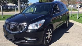 Pre-Owned 2016 Buick Enclave Premium AWD Double Sunroof Black Oshawa ON Stock# B12104