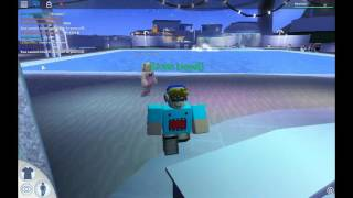 How to fly with no stuff use in ROBLOXian Waterpark.