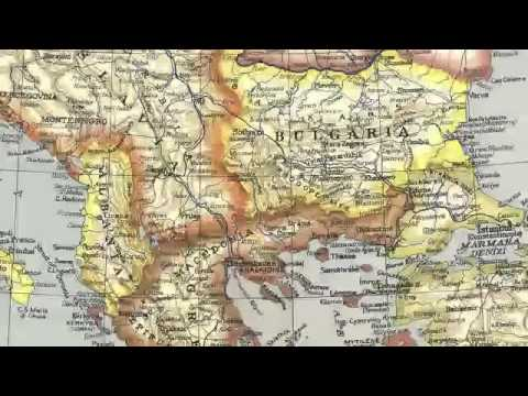National Geographic Maps of Balkans 1915 - 2006 - FYROMS LIE to BECOME TRUE !.mp4