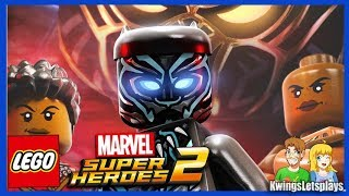 Lego Marvel Super Heroes 2 DLC Black Panther Level