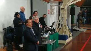 26-11-2017: #ilvolleyperfedericaeandrea Il discorso di Enzo De Luca Taranto