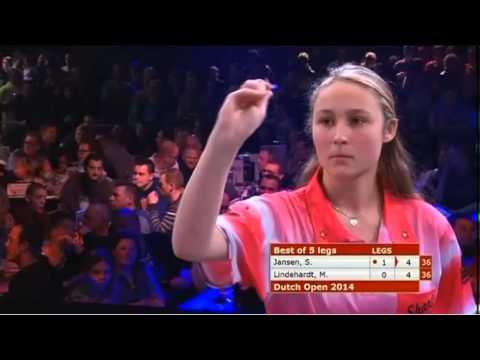 Dutch Open 2014 - Girls Final - Jansen VS Lindhardt