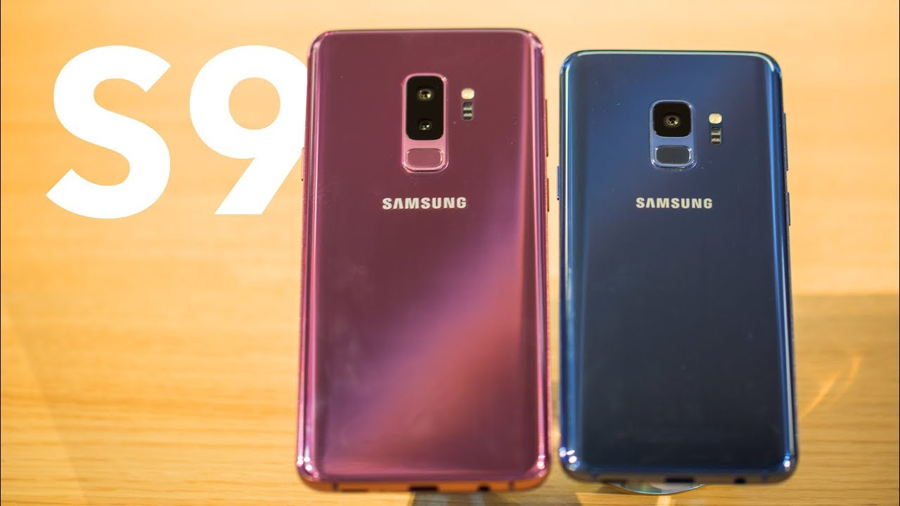 samsung galaxy s9 und s9 plus im test das hands on. Black Bedroom Furniture Sets. Home Design Ideas