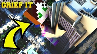 Repeat youtube video Minecraft: CAN YOU GRIEF IT?!? - DESTROY DA HOUSE - Custom Map