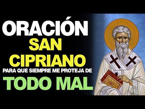 🙏 Oración milagrosa a San Cipriano CONTRA TODO MAL 🙇
