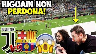 HIGUAIN NON PERDONA!! Juventus-Barcellona [Pes 2018 ITA]