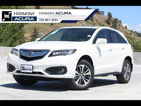 new 2017 acura rdx elite review harmony acura kelowna bc youtube. Black Bedroom Furniture Sets. Home Design Ideas
