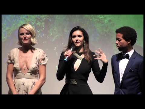 THE FINAL GIRLS Premiere Intro, Post-Screening Q&A Malin Åkerman, Nina Dobrev, Taissa