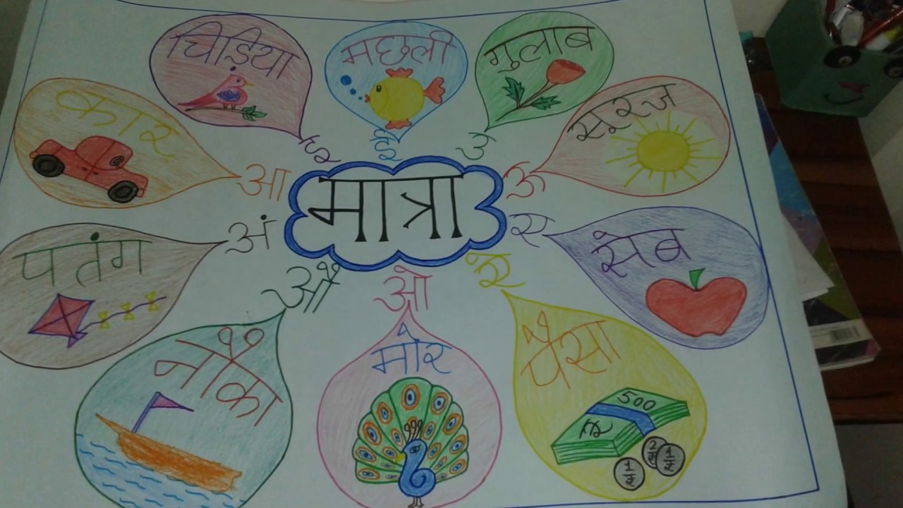 Easy craft chart for school project holiday home work summer hindi also rh youtube