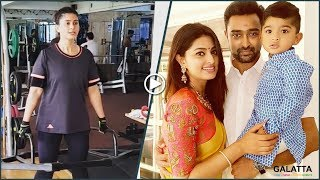 Celebrate Motherhood like Sneha | Prasanna | Vihaan | Sneha Work out in Gym