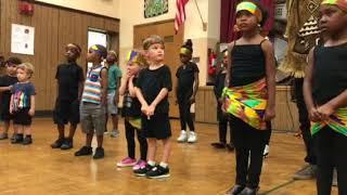 Desmond's African dance program