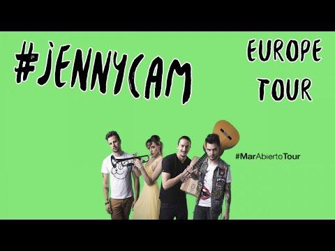 Jenny and The Mexicats - Gira Europa #JennyCam