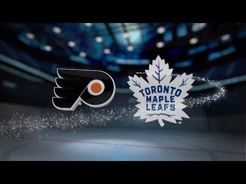 Philadelphia Flyers vs Toronto Maple Leafs - October 28, 2017 | Game Highlights | NHL 2017/18 Обзор