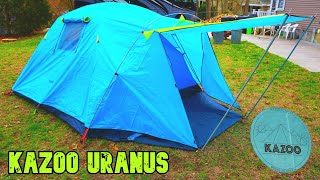 BEST 4 PERSON TENT ON AMAZON???!?? Kazoo Uranus review