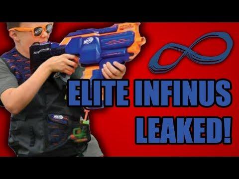 0 - Die N-Strike Elite Infinus von Nerf funktioniert wie ein Schnellfeuergewehr