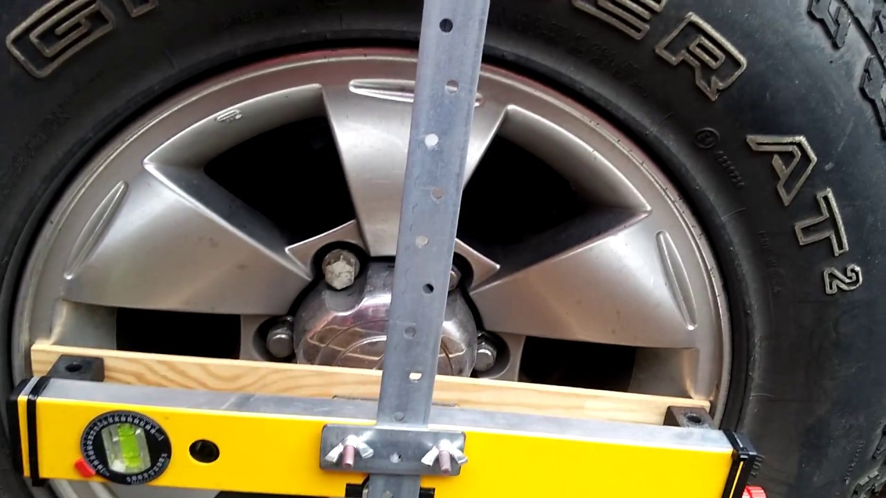 Homemade Laser Wheel Alignment Tracking Device Doovi