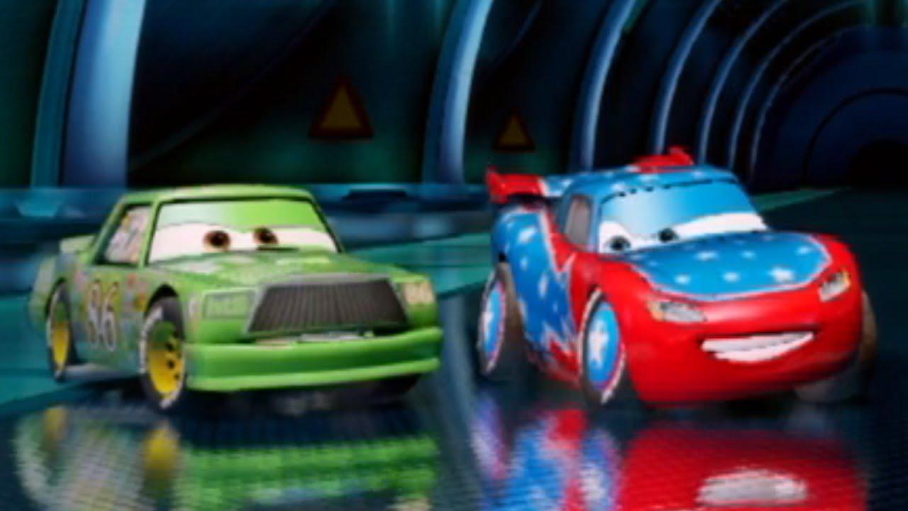 Cars The Video Game Chick Hicks Vs Daredevil Lightning