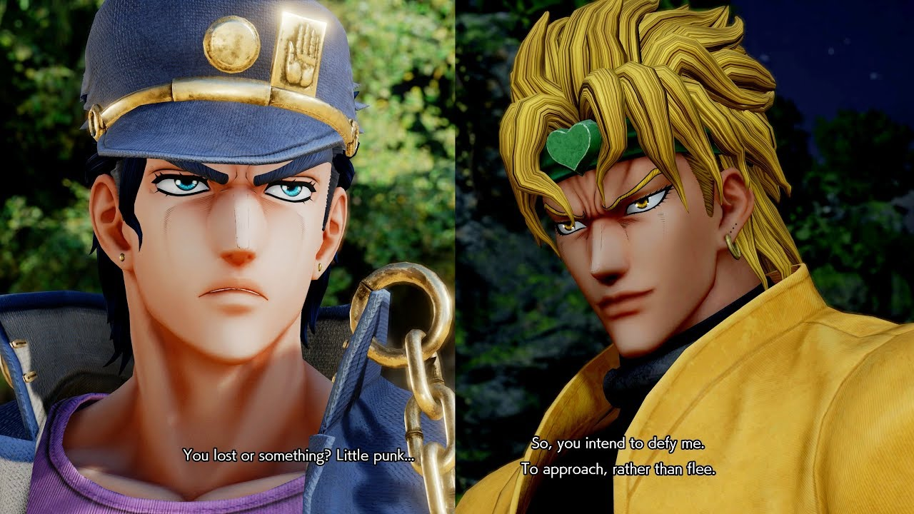 foto de Jump Force - Jotaro All Unique Special Quotes / Easter Eggs ...