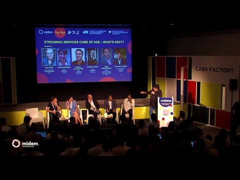 Streaming Services Come of Age – What's Next? - Midem 2017