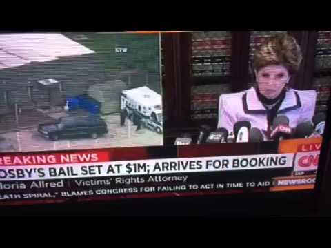 Bill Cosby Bail Of $1 Million Paid Gloria Allred Press Conf