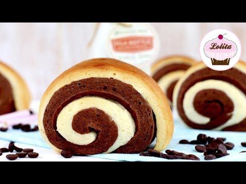Receta de pan de leche con chocolate