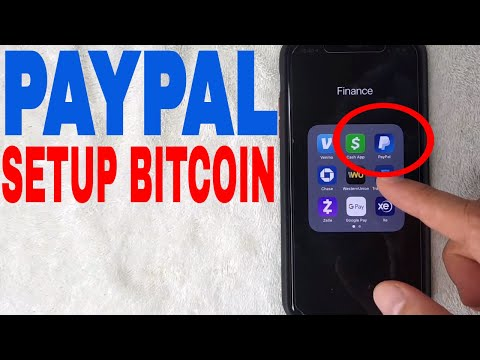 ✅  How To Setup Paypal To Buy Bitcoin 🔴