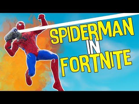 SPIDERMAN IN FORTNITE GEHACKED