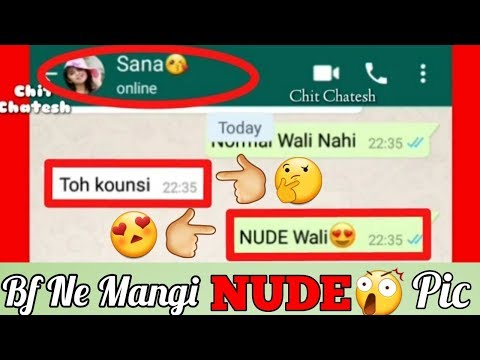 😲BF Demand For NUDE Pic 😲-😍Night BF GF Chat😍 ||CHIT CHATESH||