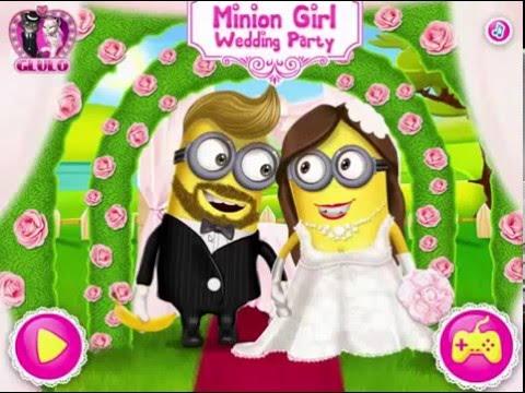 Minion Mädchen Hochzeit Dressup Spiel für Kinder, Mädchen - YouTube