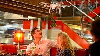 TGI Fridays Launch #Togethermas Mistletoe Drones