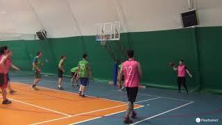 Смотреть видео PlayBasket. Видеообзор 22.11.2018 (Метро Электрозаводская). Любительский баскетбол в Москве онлайн