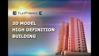 3D Model High Definition Building 02