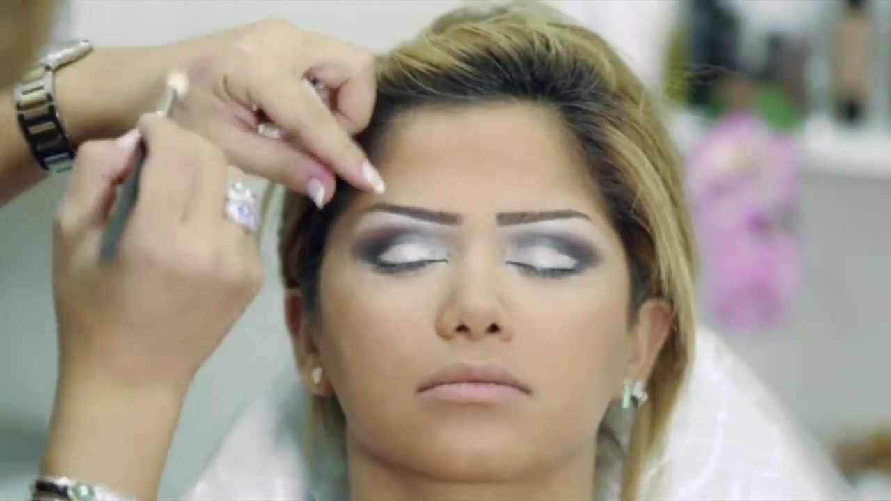 0ed88126407ba makeup Bride by Yollande مكياج عروس مع يولاند - YouTube
