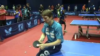 Werner Schlager service explanation - ITTF World Hopes Week & Challenge 2013