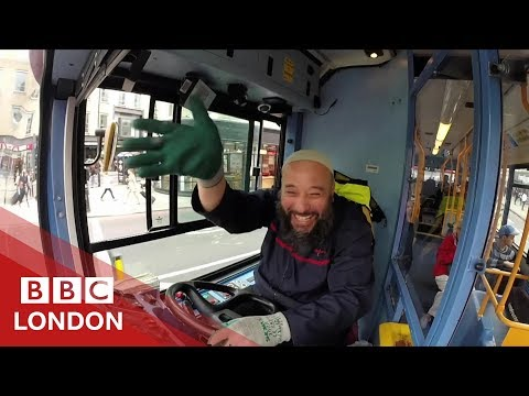 Is this London's friendliest bus driver? - BBC London