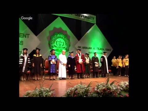 Tertiary Education - 70th Commencement Exercies - LIVE STREAM