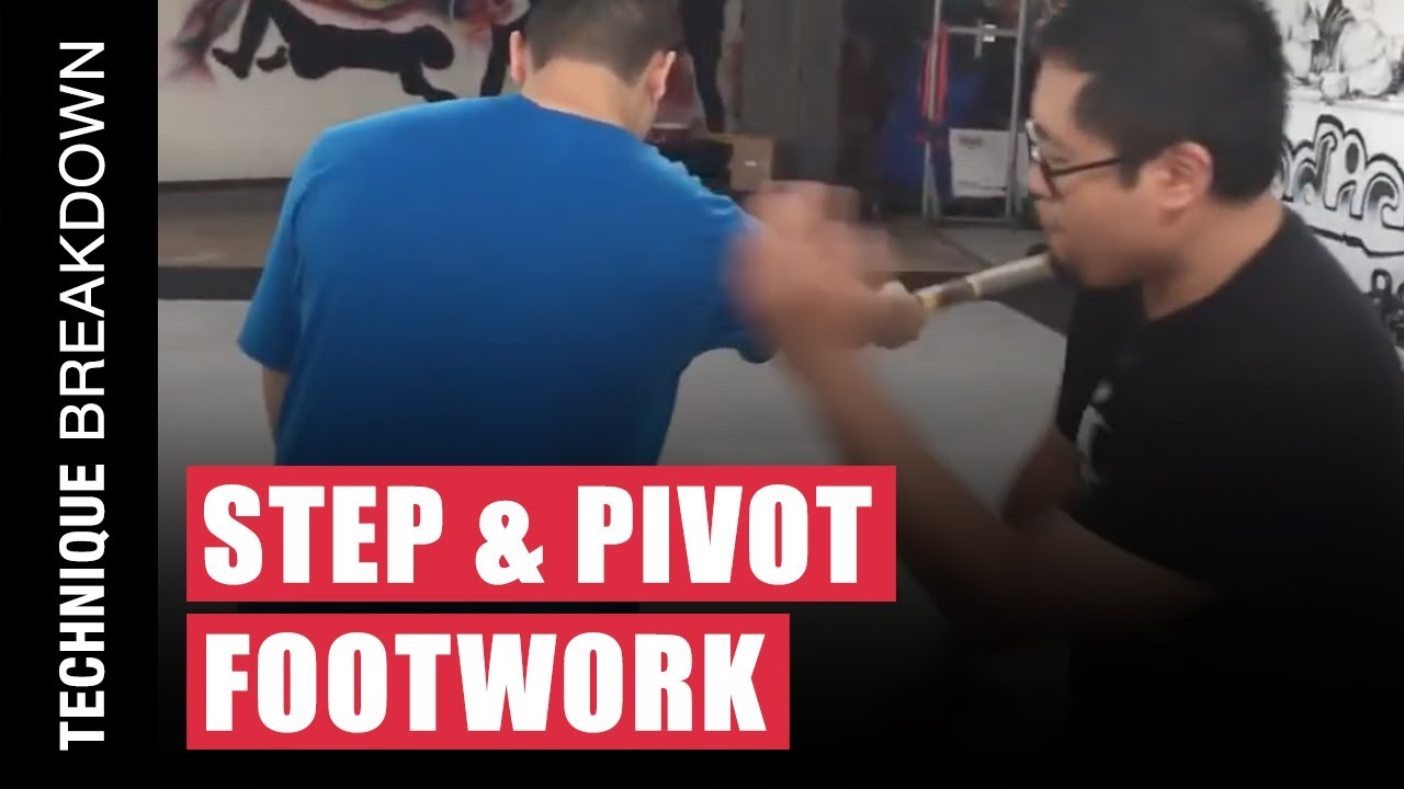 STEP & PIVOT Footwork Applications in Filipino Martial Arts against the Horizontal Attack | Kali