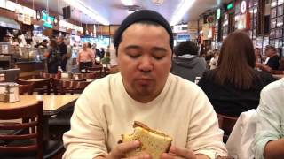 The Pickiest Eater Goes To Katz's Deli In New York!
