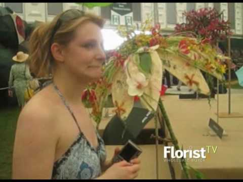 FandWB TV - Meet two Chelsea medal winning florists... Before they even won!