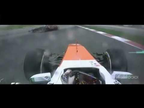 Scared Paul Di Resta